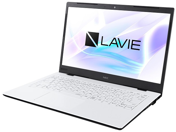 LAVIE Smart HM PC-SN186 Core i7 8GBメモリ SSD256GB Office付 2019年12月発売モデル