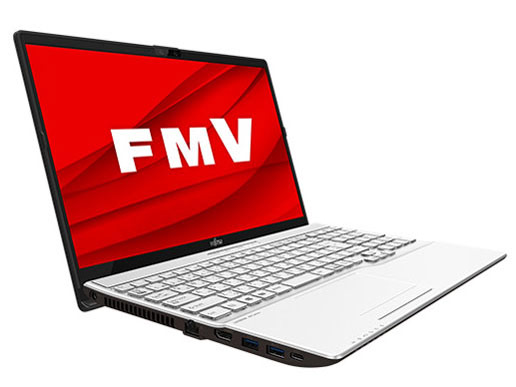 FMV LIFEBOOK AHシリーズ WA3/D3 KC_WA3D3 Core i7・メモリ8GB・SSD 512GB+HDD 1TB・Blu-ray・Office搭載モデル