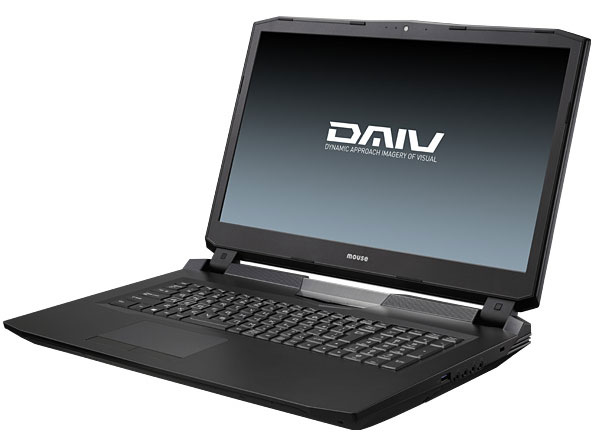 DAIV-NG7600S1 Core i7/GeForce GTX965M/16GBメモリ/480GB SSD/17.3型4K-UHD液晶 搭載モデル