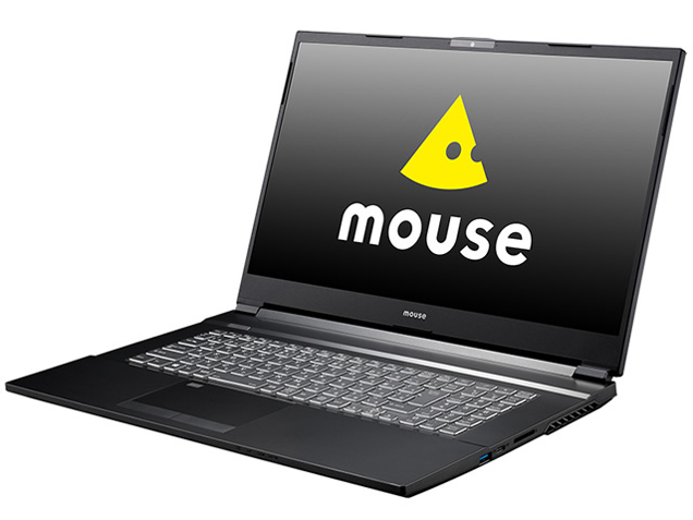 mouse K7-KK-B 価格.com限定 Core i7 10750H/GTX1650/16GBメモリ/512GB NVMe SSD+1TB HDD/Office Home and Business 2019/17.3型フルHD液晶搭載モデル
