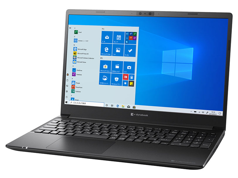 dynabook PZ/HPB 価格.com限定 W6PHP7CZAB-K 15.6型フルHD Core i7 1165G7 1TB_SSD+1TB_HDD Officeなし