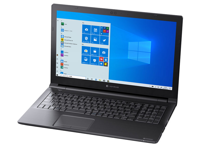 dynabook BZ15/NB 価格.com限定 W6BZ15CNBB-K 15.6型HD Celeron 4205U 500GB_HDD Officeなし